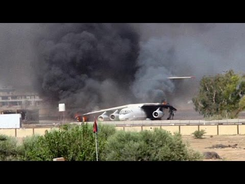 Dozens dead as militias battle for power in Libya