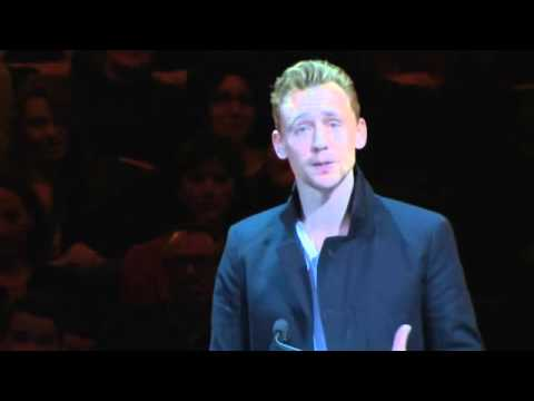 Tom Hiddleston- Letters Live, All this I did Without You