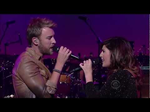 Lady Antebellum - Just A Kiss (live On Letterman 09-01-2011) [hd 1080p] video