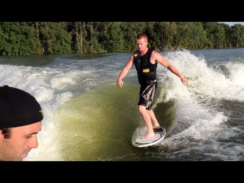 Wildwood Lake - Boarding & Wake Surfing with Mark Freeman 408 & Friends - July 21, 2013