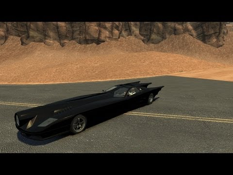 Grand Theft Auto IV - Infernus Batmobile V2 (MOD) HD