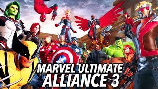 Marvel Ultimate Alliance 3 Is A Couch Co-Op Superhero Party
