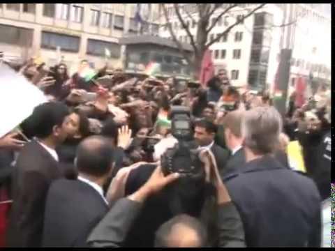Narendra Modi receives warm welcome in Berlin