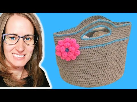 Crochet Basket Stash   Buster Part 1 Of 2