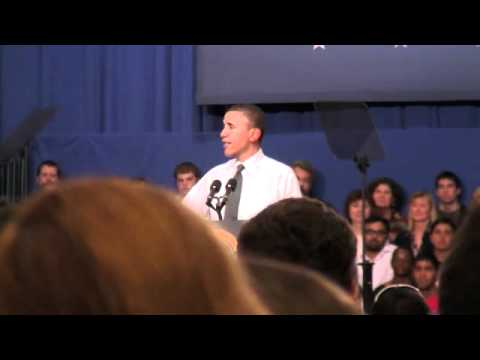 President Obama talks about renewable energy at OSU(2/3)