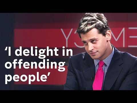 Milo Yiannopoulos' fiery interview with Channel 4 News
