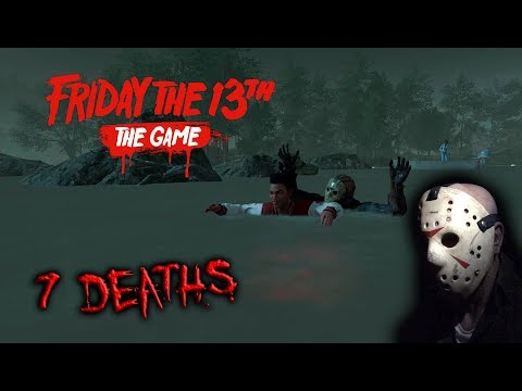 Friday the 13th the game - Gameplay 2.0 - Jason part 7 - 7 Deaths