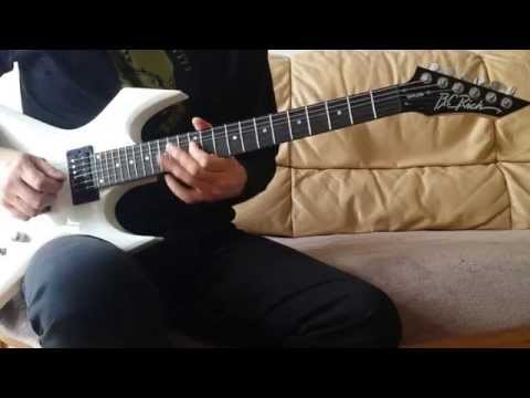 Bc Rich Warlock One Bdsm Pickup Review - Black Sabbath Children Of The Sea Cover video