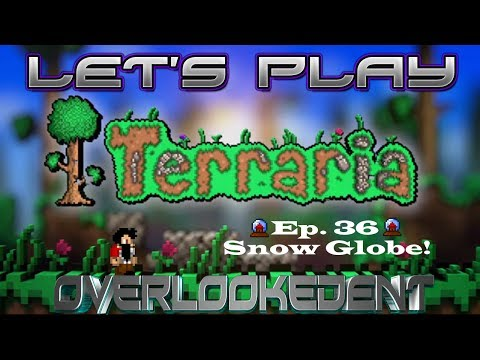 """BamVille! Ep.36 """"Snow Globe!"""" - Terraria Xbox 360 - [Let's Play!]"""