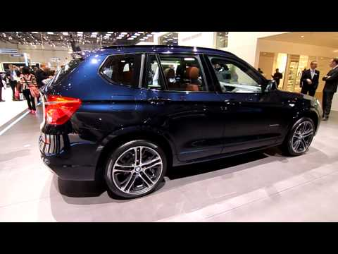 BMW X3 2011 with M Sport Package - Geneva Motor Show 2011