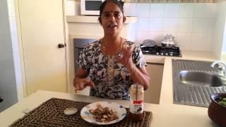 Food Tip:     Pavakkai Thokku (bitter gourd Thokku)