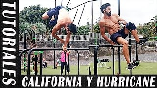 2 TUTORIALES: CALIFORNIA ROLL Y HURRICANE 450 - Calistenia y Street Workout