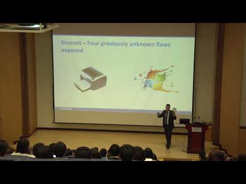 [ICISTS-KAIST 2013] Chester Wisniewski : The Efficacy and Unintended Consequence of Cyber War
