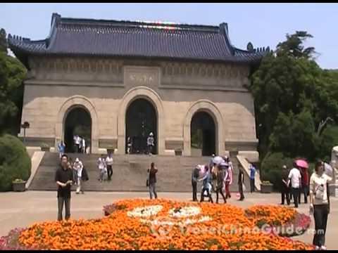 Dr. Sun Yat-sen's Mausoleum, Nanjing China