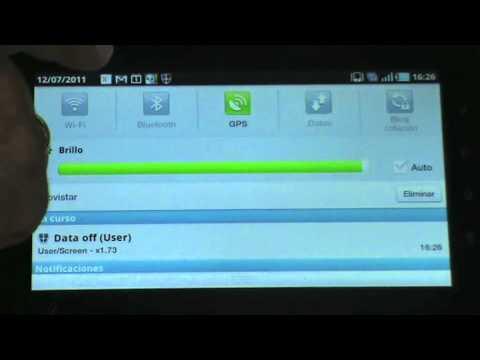 Cómo utilizar la conexión 3G del móvil para acceder a internet desde el tablet android
