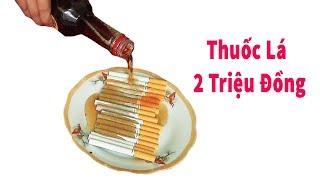 PHD | Lần Đầu Hút Thuốc Lá Ngoại | Foreign Cigarettes