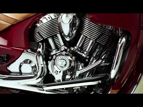 Indian Motorcycle unveils luxury 2015 Roadmaster