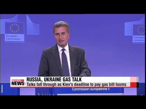 Russia, Ukraine, EU to resume talks ahead of gas bill deadline