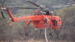 Erickson Air-Crane's S-64 Aircrane