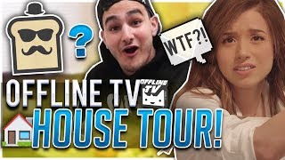 POKI FINDS WHAT IN TOAST'S ROOM?! OFFLINE TV HOUSE TOUR!