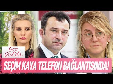 Seçim Kaya telefon bağlantısında! - Esra Erol'da 22 Ocak 2018