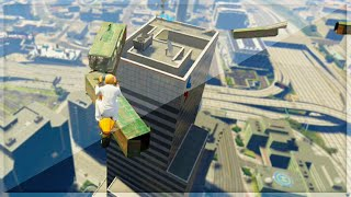 Building To Building Race (GTA 5 Funny Moments)