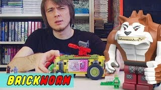 LEGO Черепашки! #4 - The Shellraiser Street Chase (Lego TMNT) - Brickworm