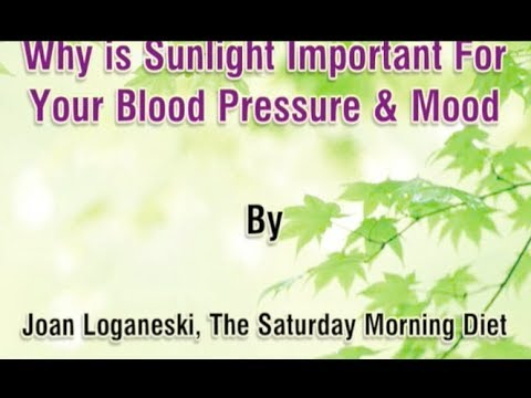 Why Is SunLight Important For Your Blood Pressure & Mood on Joan Bars