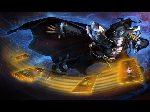 Pax Twisted Fate - Skin Spotlights - League of Legends