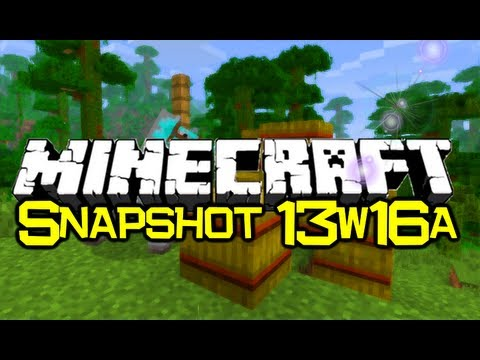 Minecraft Snapshot 13w16a - NEW! - Horses & Mules. Carpet & Lots More! (Minecraft 1.6)