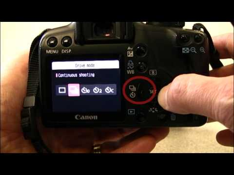 Using the Canon EOS 1000D / Digital Rebel XS DSLR - Media Technician Steve Pidd