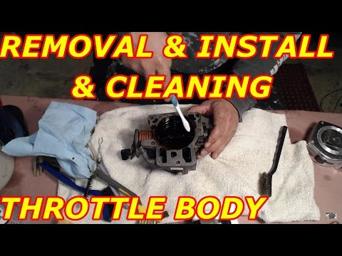 Throttle Body Removal and Cleaning 2000 Chevy Tahoe