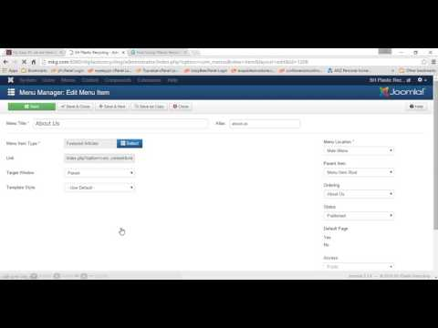 Adding meta tags, title tag in Joomla