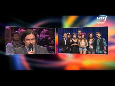 """Kauno rajono """"Božolė"""" choro vokalistai @ Pirmasis """"Eurovizijos"""" atrankos pusfinalis (2012) WEB"""