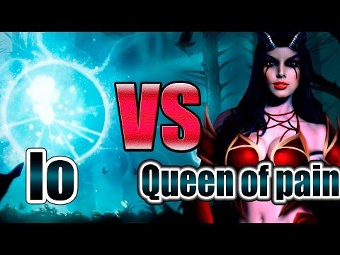ПАПИЧ играет 1 на 1 на 1000 рублей (Queen of pain против Io)