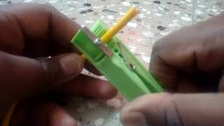 Home made wire cutter