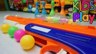 Đồ chơi trẻ em Trò chơi bắn bóng bowling - Toys for kids