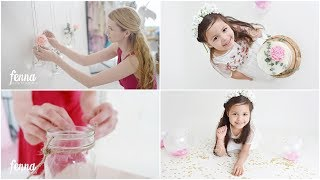 Cake Smash Photoshoot with an older child and DIY Boho Decor!