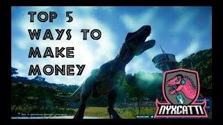 Top 5 Ways to Make Money in Jurassic World Evolution!