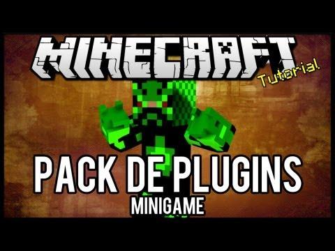 [Tutorial]Pack de Plugins #2 - Minigames Minecraft