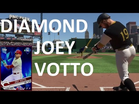 DIAMOND JOEY VOTTO REVIEW - MLB THE SHOW 17 DIAMOND DYNASTY