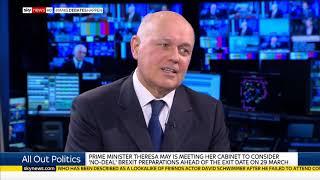 Iain Duncan Smith MP's All Out Politics interview on Sky News
