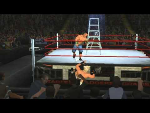 WWE 13 (Wii) Dolph Ziggler vs John Cena TLC 2012