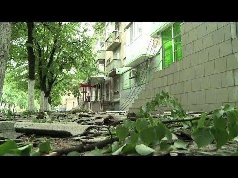 Ukraine: le désespoir des habitants de Slaviansk