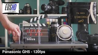 EOSHD 120fps Shootout - Sony A99 II, A7S II, A6500, RX100 IV, Panasonic GH5, NX1, Leica SL, 1D X II