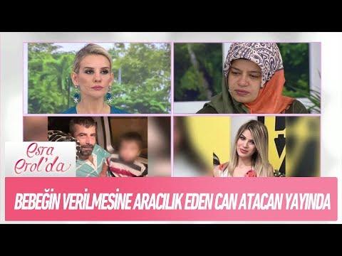 Talha bebeğin evlatlık verilmesine aracılık eden Can Atacan yayında! - Esra Erol'da  21 Aralık 2017