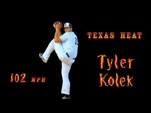 Tyler Kolek - #2 Overall 2014 MLB Draft by Miami Marlins, Texas High School Baseball