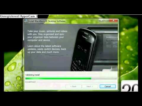 How to install os5 on blackberry curve 8900