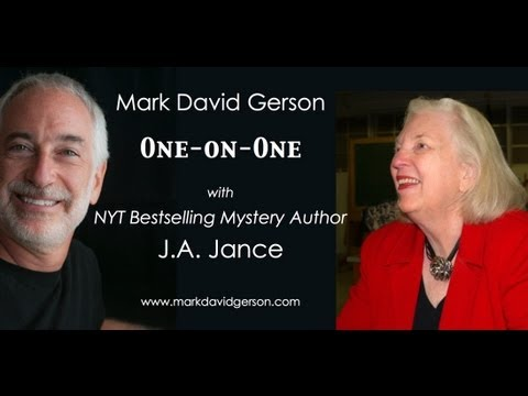Mark David Gerson: 1-on-1 with J.A. Jance, NY Times-Bestselling Mystery Author
