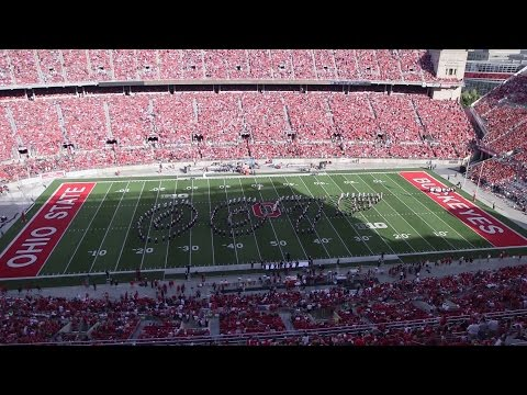 The Ohio State Marching Band Sept. 19 halftime show: James Bond